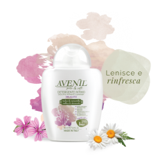 'Avenil' Delicate Intimate Cleanser with Mallow, Chamomile and Oats, 250ml