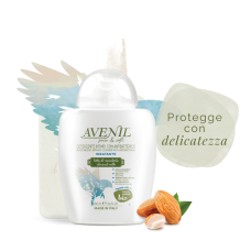 'Avenil' Moisturizing Intimate Cleanser Antibacterial with almonds and oats, 250ml