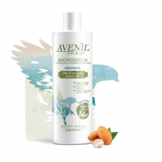 'Avenil' Moisturizing Shower and Bath Foam with Almond Milk and Oats, 400ml