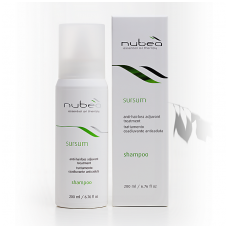 'Nubea' Sursum / Anti-hairloss adjuvant treatment shampoo 200ml, Nourishing shampoo Anti-hairloss with Lemon and Bergamot Essential Oils and Serenoa extract 200ml
