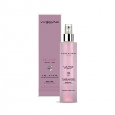 'VERDEOASI' Rose Tonic Comfort Balancing with rose water, marine collagen, hyaluronic acid, Witch Hazel, Centella, 200ml