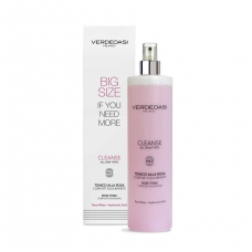 'VERDEOASI' Rose Tonic Comfort Balancing with rose water, marine collagen, hyaluronic acid, Witch Hazel, Centella, 500ml