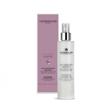 'VERDEOASI' Cleansing Milk Make-Up Remover Face-Eyes with Marine collagen, Sweet Almond Oil, Chamomile, 200ml